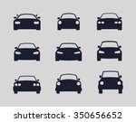 car collection | Shutterstock .eps vector #350656652