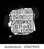 vector quotes card design.... | Shutterstock .eps vector #350679692