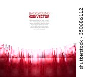 background red pattern with tech | Shutterstock .eps vector #350686112