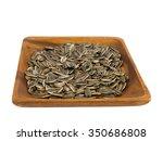 roasted sunflower seeds in... | Shutterstock . vector #350686808