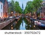 Amsterdam City  Illuminated...