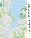 vector map of the city of kiel  ... | Shutterstock .eps vector #350707382