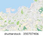 vector map of the city of vigo  ... | Shutterstock .eps vector #350707406