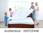 photo of loving family of four... | Shutterstock . vector #350725448
