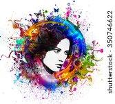 model | Shutterstock . vector #350746622