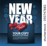 new year sale design eps10... | Shutterstock .eps vector #350747882
