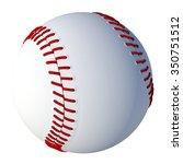 baseball | Shutterstock . vector #350751512
