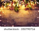 Christmas Fir Tree With...