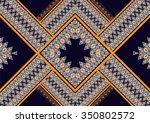 geometric ethnic pattern design ... | Shutterstock .eps vector #350802572