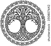 vector ornament  decorative... | Shutterstock .eps vector #350807642