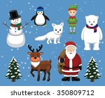 Christmas Characters Cartoon...