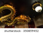 A Golden Dragon In The City Of...