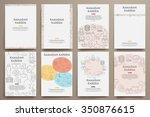corporate identity vector... | Shutterstock .eps vector #350876615