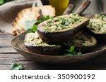 traditional sardinian dish... | Shutterstock . vector #350900192