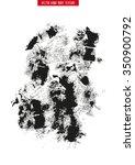 grunge vector texture for your... | Shutterstock .eps vector #350900792