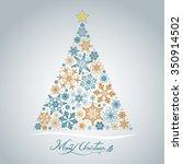 christmas tree | Shutterstock .eps vector #350914502