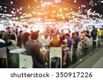 Abstract blurred event with...