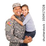 Portrait Of American Military...