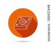 club music icon. dj track mixer ...   Shutterstock .eps vector #350927648