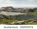 Canadian Cliff And Grass Of...