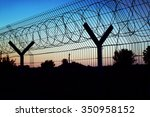 Restricted Area   Fence With...