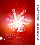 christmas red color abstract...   Shutterstock .eps vector #350963915
