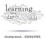 vector concept or conceptual... | Shutterstock .eps vector #350965985