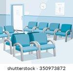 empty waiting room in the... | Shutterstock .eps vector #350973872