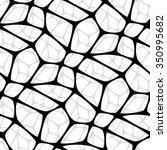 modern stylish pattern of mesh. ... | Shutterstock .eps vector #350995682