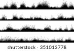 set of horizontal banners of... | Shutterstock .eps vector #351013778