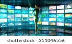 international trade and... | Shutterstock . vector #351046556