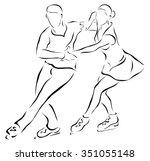 vector illustration.... | Shutterstock .eps vector #351055148