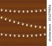 vector realistic lantern... | Shutterstock .eps vector #351079856