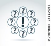 faq  analyze concept  ask and...   Shutterstock .eps vector #351114056