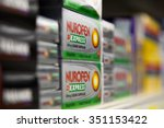 Small photo of LONDON, UK - DECEMBER 14, 2015 Australian court orders Reckitt Benckiser to remove several of its Nurofen pain relief products. According to the court the UK-based manufacturer has misled consumers.