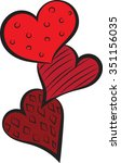 Hearts Clip Art   Vector...