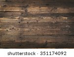wooden background. texture with ... | Shutterstock . vector #351174092