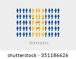 illustration of men and women... | Shutterstock .eps vector #351186626