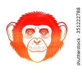 Chimpanzee. Chimpanzee Sign ...