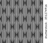 abstract black and white... | Shutterstock .eps vector #351274916