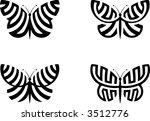 butterflies | Shutterstock .eps vector #3512776