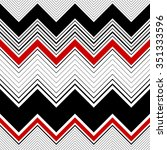seamless zigzag pattern.... | Shutterstock .eps vector #351333596