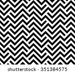 Stock vector the geometric pattern by stripes seamless vector background black texture 351384575