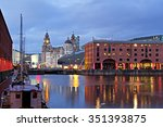 view of liverpool's historic... | Shutterstock . vector #351393875