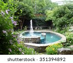 The Fountain In The Garden Of...