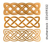 celtic knots | Shutterstock .eps vector #351459332
