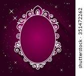 Magic Mirror Vector...