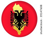 button albania | Shutterstock .eps vector #35147608