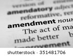 Small photo of Amendment