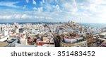 panoramic view of cadiz   Shutterstock . vector #351483452